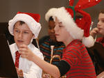 Middle school band Christmas concert