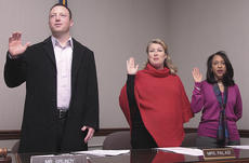 """<div class=""""source"""">Stephen Lega</div><div class=""""image-desc"""">The new Lebanon City Council members took their oaths of office New Year's Day at city hall. The members pictured above are, from left, Jay Grundy, Kate Palagi and Denise Fogle.</div><div class=""""buy-pic""""><a href=""""http://web2.lcni5.com/cgi-bin/c2newbuyphoto.cgi?pub=015&orig=01-05-11%2Bweb%2Bin%2Bbrief%2Bnew%2Bcouncil%2Bpic%2B1.jpg"""" target=""""_new"""">Buy this photo</a></div>"""