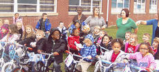 "<div class=""source"">Photos submitted</div><div class=""image-desc"">The Loretto Head Start received bicycles for every student Dec. 20 as a result of a donation by Bobby and Debbie Blair of St. Francis</div><div class=""buy-pic""></div>"