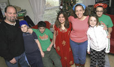 """<div class=""""source"""">Stephen Lega</div><div class=""""image-desc"""">The Webers are hosting exchange student Gulbutamo """"Gulya"""" Mamadshoeva of Tajikistan during the 2010-11 academic year. From left, Steve Weber, Ethan (12), Brett (14), Gulya (16), Stephanie Weber, Phoebe (9) and Loren (14).</div><div class=""""buy-pic""""><a href=""""/photo_select/9355"""">Buy this photo</a></div>"""