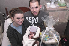 """<div class=""""source"""">Stephen Lega</div><div class=""""image-desc"""">Harlee Jayde Sapp became the first baby born at Spring View Hospital in 2011. </div><div class=""""buy-pic""""><a href=""""/photo_select/9375"""">Buy this photo</a></div>"""
