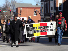 """<div class=""""source"""">Stevie Lowery</div><div class=""""image-desc"""">A march in honor of Dr. Martin Luther King Jr., was organized by the United Concerned Citizens Organization in downtown Lebanon Sunday.</div><div class=""""buy-pic""""><a href=""""/photo_select/25103"""">Buy this photo</a></div>"""