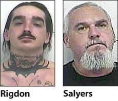 "<div class=""source""></div><div class=""image-desc"">William Bobby Rigdon and David Salyers are being charged with the murder of Gleason Pyles.</div><div class=""buy-pic""></div>"