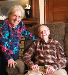 "<div class=""source"">Will Phillips</div><div class=""image-desc"">Albert Purdy and his wife, Rose, have been married 50 years. </div><div class=""buy-pic""><a href=""http://web2.lcni5.com/cgi-bin/c2newbuyphoto.cgi?pub=015&orig=02-19-14_mc_5_purdy_with_wife_pic.jpg"" target=""_new"">Buy this photo</a></div>"