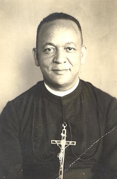 "<div class=""source"">Photo submitted</div><div class=""image-desc"">The Rev. Vincent Smith of Lebanon was the first African-American from Kentucky to be ordained as a Catholic priest.</div><div class=""buy-pic""></div>"