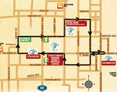 """<div class=""""source""""></div><div class=""""image-desc"""">This map shows the course for the Turtleman Trek 5K, which will be held at 8:30 a.m. Saturday, March 1.</div><div class=""""buy-pic""""></div>"""