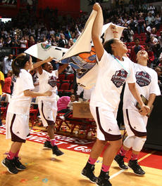 "<div class=""source"">Stephen Lega</div><div class=""image-desc"">Haeli Howard, Timera Burton, Alexus Calhoun and Makayla Epps jog a victory lap around the court with the banner proclaiming Marion County as the 2013 state champions.</div><div class=""buy-pic""><a href=""/photo_select/26212"">Buy this photo</a></div>"