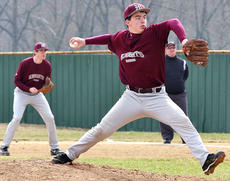 """<div class=""""source"""">Jessica Veatch</div><div class=""""image-desc"""">Sophomore Robbie Spalding pitches in the 4-3 against Fern Creek Saturday morning during the Green County Wood Bat Invitational.</div><div class=""""buy-pic""""><a href=""""/photo_select/26462"""">Buy this photo</a></div>"""