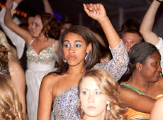 "<div class=""source"">Trina Spalding/The Digital Touch</div><div class=""image-desc"">Alexus Calhoun strikes a pose on the dance floor. Also pictured are Patrice Tonge, right, and Morgan Avritt. </div><div class=""buy-pic""></div>"