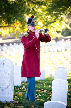 """<div class=""""source""""></div><div class=""""image-desc"""">Pictured is the late Don Johnson, one of the world's top trumpet players. His collection of J.W. Pepper instruments and his collection of Civil War reproduction uniforms are on display at the Marion County Heritage Center. Johnson and his band """"President Lincoln's Own,"""" appeared in the 2012 movie """"Lincoln"""" directed by Steven Spielberg. Kentucky Classic Orchestra will be honoring Johnson during a special concert on May 13.</div><div class=""""buy-pic""""></div>"""