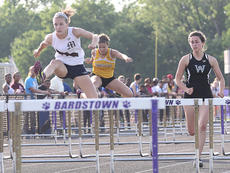 "<div class=""source"">Nick Schrager</div><div class=""image-desc"">Meredith Bartley races to a second-place finish in the 100-meter hurdles in the regional track meet to earn a spot in the Class AA state meet.</div><div class=""buy-pic""><a href=""http://web2.lcni5.com/cgi-bin/c2newbuyphoto.cgi?pub=015&orig=05-21-14_track_pic_4.jpg"" target=""_new"">Buy this photo</a></div>"