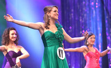 """<div class=""""source"""">Trena Spalding/The Digital Touch</div><div class=""""image-desc"""">Christine Mattingly competes in the self-expression portion of the Distinguished Young Women National Finals in Mobile, Ala., June 23-25.</div><div class=""""buy-pic""""></div>"""