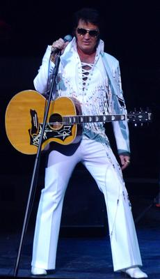 "<div class=""source"">Photo submitted</div><div class=""image-desc"">Marion County native Eddie Miles will be performing a tribute to Elvis and country music legends this weekend at Angelic Hall.</div><div class=""buy-pic""></div>"