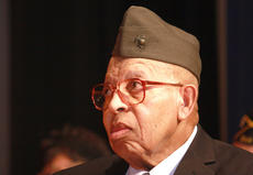 "<div class=""source"">Stephen Lega</div><div class=""image-desc"">William ""Buster"" Mattingly, 86, of Lebanon was one of the Montford Point Marines who was recently awarded the Congressional Gold Medal.</div><div class=""buy-pic""><a href=""/photo_select/21729"">Buy this photo</a></div>"