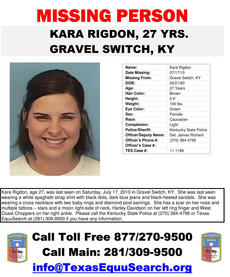 "<div class=""source""></div><div class=""image-desc"">Kara Tingle Rigdon of Gravel Switch has been missing since July 17, 2010.</div><div class=""buy-pic""></div>"