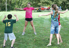 "<div class=""source"">Nick Schrager</div><div class=""image-desc"">Stevie Lowery leads a group through some the Girls on the Run warm-up exercises during Family Fitness and Safety Day on Sept. 15 at Graham Memorial Park.</div><div class=""buy-pic""></div>"