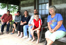 """<div class=""""source"""">Stevie Lowery</div><div class=""""image-desc"""">Pictured, from left, are Al Munkacsy, Lori Danks, Sarah Munkacsy, Butch Cecil, Gavin Howe and Lottie Bose Hunter. </div><div class=""""buy-pic""""></div>"""