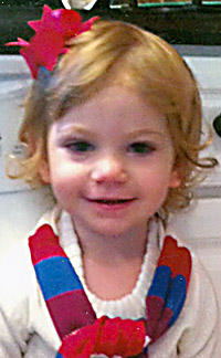 """<div class=""""source""""></div><div class=""""image-desc"""">Sophia Grace Wheatley will celebrate her 2nd birthday Jan. 13, 2012. She is the daughter of Joey and Leslie Wheatley of Raywick. Grandparents are Donna and Tim McQueary, Terry Smith and Larry and Lois Wheatley. Great-grandparents are Donald and Carol Jean Smith, Billy and Shirley Lanham, Adeline Thomas and Patricia Wheatley. She has one brother, Evan. </div><div class=""""buy-pic""""></div>"""