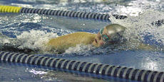 """<div class=""""source"""">Jessica Veatch</div><div class=""""image-desc"""">Freshman Laura Beth Rice participates in the girls 100-yard freestyle event on Jan. 8. Rice broke the previous school record in this event by swimming the course in 1:02.38. </div><div class=""""buy-pic""""><a href=""""/photo_select/24940"""">Buy this photo</a></div>"""