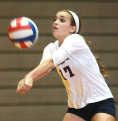 """<div class=""""source"""">Stephen Lega</div><div class=""""image-desc"""">Marion County sophomore libero Alex Thomas passes the ball while receiving a serve from Thomas Nelson during a junior varsity match.</div><div class=""""buy-pic""""><a href=""""/photo_select/29995"""">Buy this photo</a></div>"""