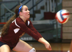 """<div class=""""source"""">Stephen Lega</div><div class=""""image-desc"""">Marion County senior libero Lauren Farmer passes the ball in a win over Thomas Nelson on Sept. 26. </div><div class=""""buy-pic""""><a href=""""/photo_select/29994"""">Buy this photo</a></div>"""