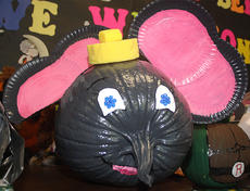"<div class=""source"">Stevie Lowery</div><div class=""image-desc"">This pumpkin is decorated to look like Horton from Dr. Seuss's ""Horton Hears a Who."" </div><div class=""buy-pic""><a href=""http://web2.lcni5.com/cgi-bin/c2newbuyphoto.cgi?pub=015&orig=10-30-13_les_pumpkin_elephant.jpg"" target=""_new"">Buy this photo</a></div>"