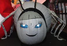 "<div class=""source"">Stevie Lowery</div><div class=""image-desc"">This pumpkin was decorated to look like Charlotte from ""Charlotte's Web."" </div><div class=""buy-pic""><a href=""http://web2.lcni5.com/cgi-bin/c2newbuyphoto.cgi?pub=015&orig=10-30-13_les_pumpkin_spider.jpg"" target=""_new"">Buy this photo</a></div>"