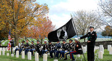 """<div class=""""source"""">Stevie Lowery</div><div class=""""image-desc"""">The Marion County Veterans Honor Guard provided the color guard for the presentation and retirement of the colors.</div><div class=""""buy-pic""""><a href=""""/photo_select/58728"""">Buy this photo</a></div>"""