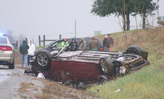 """<div class=""""source"""">Stephen Lega</div><div class=""""image-desc"""">Colin Whitfill was a passenger in the overturned vehicle.  He was transported to Spring View Hospital by Marion County EMS following the accident.</div><div class=""""buy-pic""""></div>"""