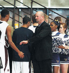"""<div class=""""source"""">Jessica Veatch</div><div class=""""image-desc"""">Former Marion County Knights Head Coach Tim Davis, who currently is the head coach at Campbellsville, picked up his 500th win as a head coach on Saturday, Dec. 11.</div><div class=""""buy-pic""""><a href=""""/photo_select/9059"""">Buy this photo</a></div>"""