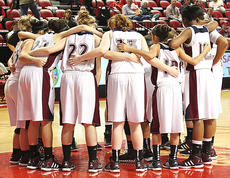 """<div class=""""source"""">Jessica Veatch</div><div class=""""image-desc"""">The Marion County Lady Knights huddle up after halftime of the semifinal game against Lincoln County in the state tournament.</div><div class=""""buy-pic""""><a href=""""http://web2.lcni5.com/cgi-bin/c2newbuyphoto.cgi?pub=015&orig=3-14%2Blady%2Bknights%2Bstate%2Btourney%2B142.jpg"""" target=""""_new"""">Buy this photo</a></div>"""