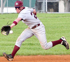 """<div class=""""source"""">Jessica Veatch</div><div class=""""image-desc"""">Senior second baseman Alex Gordon backhands the baseball in the 7-2 win over Campbellsville April 16 on the road.</div><div class=""""buy-pic""""><a href=""""/photo_select/26848"""">Buy this photo</a></div>"""