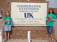 "<div class=""source"">Photos submitted</div><div class=""image-desc"">Pictured are the state 4-H speech contestants. There were four girls from Marion County who competed at the state 4-H speech contest on Saturday, July 13, at the University of Kentucky. Aubrey Mealey received Grand Champion in the 9-year-old category, Christen Shofner received Reserve Grand Champion in the 12-year-old category, Layla Cambron (not pictured) received a blue ribbon in the 11-year-old category.</div><div class=""buy-pic""></div>"