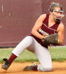 """<div class=""""source"""">Jessica Veatch</div><div class=""""image-desc"""">Seventh grader Jordan Thomas stops a ball at second base and throws a runner out during the game against Boyle County April 25.</div><div class=""""buy-pic""""><a href=""""/photo_select/19556"""">Buy this photo</a></div>"""