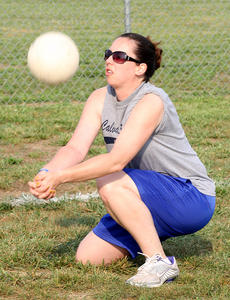 """<div class=""""source"""">Jessica Veatch</div><div class=""""image-desc"""">Lee Morgeson passes the volleyball to a teammate during a recent womens' volleyball league game at Graham Memorial Park.</div><div class=""""buy-pic""""><a href=""""http://web2.lcni5.com/cgi-bin/c2newbuyphoto.cgi?pub=015&orig=6-15%2Bvolleyball%2B37.jpg"""" target=""""_new"""">Buy this photo</a></div>"""