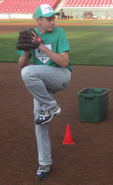 """<div class=""""source"""">Photo submitted</div><div class=""""image-desc"""">Travis Wiser of Lebanon won his division the MLB Pitch, Hit and Run competition in Cincinnati.</div><div class=""""buy-pic""""></div>"""