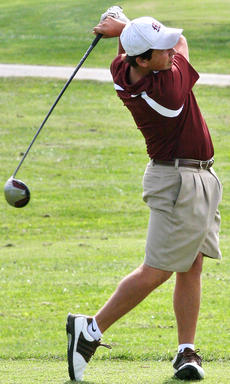 """<div class=""""source"""">Jessica Veatch</div><div class=""""image-desc"""">Junior Logan Medley tees off during the Marion County Invitational at Rosewood Golf Course Saturday.</div><div class=""""buy-pic""""><a href=""""/photo_select/22509"""">Buy this photo</a></div>"""