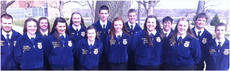 "<div class=""source"">Photo submitted</div><div class=""image-desc"">On March 14, FFA members traveled to Elizabethtown Community College to compete in regional speaking events and parliamentary procedure.  The results are as follows: Prepared Public Speaking – Bethany Purdom – Superior 1st  , Paige Cecil – FFA Creed – Superior 1st, Michael Sandusky – Beef Impromptu – Superior 2nd ,   Jerrad Livers – Nursery/Landscaping – Superior 3rd, Brittany Jones – Dairy Impromptu – Superior 3rd, Kaitlyn Spalding – Small Animal Impromptu – Superior, John Robert Purdom – Poultry Impromptu – Superior, Brooklyn Russell – Extemporaneous Public Speaking – Superior, Michelle Thompson – Floral Impromptu – Superior, Aaron Spalding – Crop Impromptu – Excellent, Nikki Lanham – Horse Impromptu – Excellent, Joseph Peterson – Goat Impromptu – Excellent.  The Parliamentary Procedure team consisting of: Michael Sandusky, Bethany Purdom, Brooklyn Russell, Michelle Thompson, Jerrad Livers, Samantha Garrett, Tyler Jones, Aaron Spalding, Kaitlyn Spalding, and Joseph Peterson received a superior.  Bethany Purdom, Paige Cecil and Michael Sandusky advanced to state competition in their respective speaking competitions in June at the FFA State Convention.   </div><div class=""buy-pic""></div>"