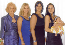 """<div class=""""source""""></div><div class=""""image-desc"""">Pictured are five generations of the Hayden family. They are, from left, Pauline Spalding Hayden, Brenda Hayden Miles Brown, Julie Miles Russman, Lauren Russman and Adyson Bomar.</div><div class=""""buy-pic""""></div>"""