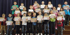 "<div class=""source"">Photo submitted</div><div class=""image-desc"">The following were students of the month at Glasscock Elementary School for March 2012. Front row, Cody Brown, Colin York, Caitylynn Brady, Nathan Hoeck, Bryson Garrett, Wesley Followell, Chloe Allen, Marissa Nulle, Lakin Sickles, and Austin Tingle; middle row, Ava Caldwell, Karis Smith, Junior Cruz, Emily Helms, Josie Benningfield, Jadin Gallegos, and Selena Cepeda; back row, Baily Haynes, Jackson Martin, Kelsie Langford, Sarah Clark, Sarah Orberson, Heather Ransdell, and Joe David Jacobs. Not pictured, Tiana Railey and parent volunteer of the month Peggy Price and staff members of the month Betty Benningfield and Karen O'Daniel.