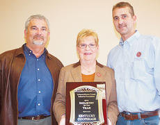 "<div class=""source"">Photo by Stevie Lowery</div><div class=""image-desc"">Pictured, from left, is Clint Evans, vice president of Kentucky Cooperage-ISO Independent Stave, Doris Mattingly, office manager and Joe David Humphrey, plant manager.</div><div class=""buy-pic""><a href=""http://web2.lcni5.com/cgi-bin/c2newbuyphoto.cgi?pub=015&orig=Ky%2BCooperage%2Bindustry%2Bof%2Bthe%2Byear%2Bpic.jpg"" target=""_new"">Buy this photo</a></div>"