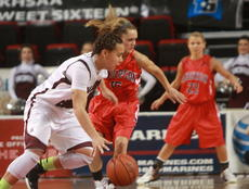 """<div class=""""source"""">Stephen Lega</div><div class=""""image-desc"""">Marion County's Makayla Epps drives past Anderson County's Corrin Robinson.</div><div class=""""buy-pic""""><a href=""""/photo_select/26143"""">Buy this photo</a></div>"""