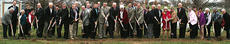 """<div class=""""source"""">Photo submitted</div><div class=""""image-desc"""">After several years of planning, the St. Catharine College Board of Trustees and honored guests put shovel to earth Nov. 14 to break ground for the new Emily W. Hundley Library and Center for Graduate Studies. Morel Construction, from Louisville, will serve as the general contractor for the project, which is expected to be completed by December 2012. SCC President William D. Huston said the winning bid from Morel came in about $1 million under budget, at a total estimated cost of $8 million. Construction will begin immediately.</div><div class=""""buy-pic""""></div>"""