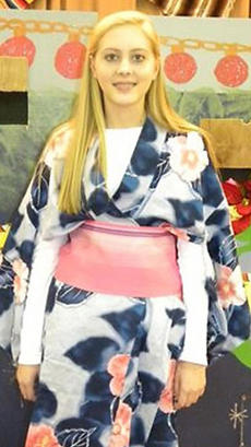 """<div class=""""source""""></div><div class=""""image-desc"""">Pictured is Sara Jean Hughes in a Japanese Kimono for the multicultural Christmas production at SCMS. </div><div class=""""buy-pic""""></div>"""