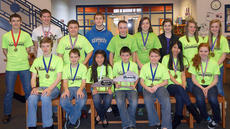 """<div class=""""source"""">Photo submitted</div><div class=""""image-desc"""">Pictured are members of the St. Charles Middle School Academic, Quick Recall, and Future Problem Solving (FPS) teams: front row, from left, Nicholas Kaminiski, Mathew Pelfrey, Mya Emmons, Devon Jones, Noah Spalding, Sophie Clark, and Shelby Mattingly; back row, Cody Browning, Israel Larue, Matthew Courtwright, Cameron Logsdon, Cassidy Logsdon, Jessah Hughes, Maggie Blandford, Kaitlyn Farmer, and Caroline Reed. The teams are coached by Rebecca Emmons and Ellen McFall. </div><div class=""""buy-pic""""></div>"""