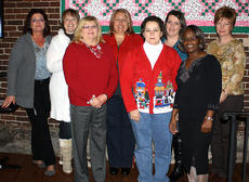 """<div class=""""source""""></div><div class=""""image-desc"""">10 Years Pictured, from left, are Ginger Luescher, Misty Franklin, Teresa Tungate, Tammy Riley, Luella Chambers, Debbie Payne, Mary McAtee and Claudia Andrews.</div><div class=""""buy-pic""""></div>"""