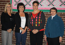 """<div class=""""source""""></div><div class=""""image-desc"""">20 Years Pictured, from left, are Gayla Edlin, Renee Daugherty, Michelle Purdom and Anna Cocanougher. </div><div class=""""buy-pic""""></div>"""