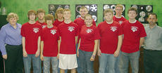 """<div class=""""source"""">Photo submitted</div><div class=""""image-desc"""">Pictured are, front row, from left, Sandra Sladics, Taylor Baker, Maison Young, Chase Lancaster, Jessica Krenning, Cody Wheatley, Joe Ben Curtis and Darrell Raikes; and back row, Ethan Redmon, Ben Thomas, Robert Cocanougher and Quentin Miles.</div><div class=""""buy-pic""""></div>"""