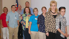 "<div class=""source"">Photo submitted</div><div class=""image-desc"">Pictured, from left, are Beverly Wilson, Cody Drury, Sam Thompson, Lemuel Baker, Pat Stotts, Beth Lee, Tiffany Cox, Kathy Taylor and Hannah Pruitt.</div><div class=""buy-pic""></div>"