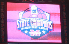 "<div class=""source"">Stephen Lega</div><div class=""image-desc"">After the 2013 Girls Sweet Sixteen final, the scoreboard declared Marion County as the state champions.</div><div class=""buy-pic""><a href=""/photo_select/26286"">Buy this photo</a></div>"